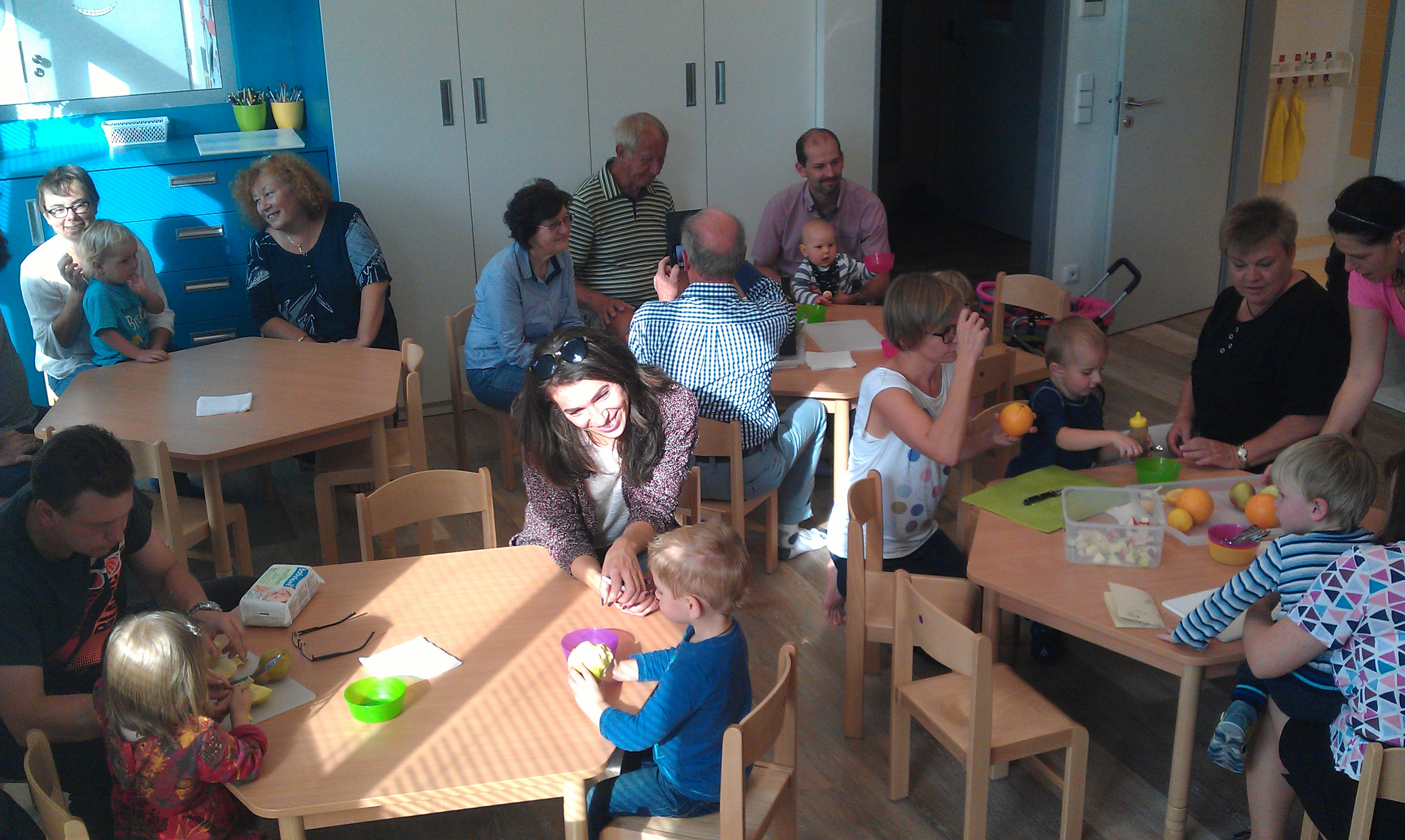 Společné vaření dětí a rodičů